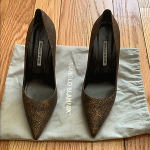 Manolo Blahnik beautiful never worn heels!!